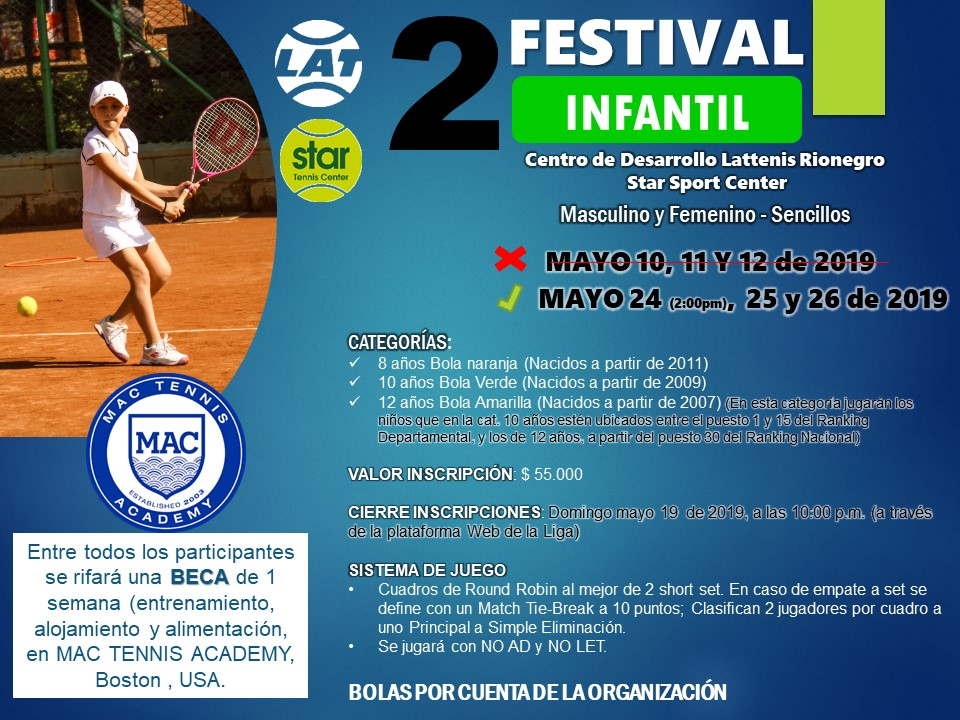 2do Festival Departamental Infantil @ Star Sport Center
